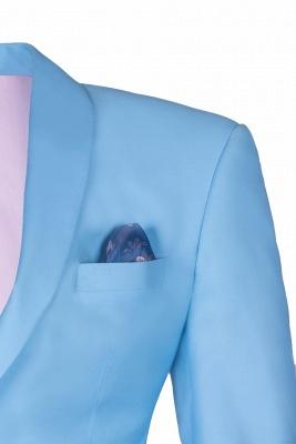Trajes de boda de botones de solapa | con botones de solapa de botones hechos a medida_3