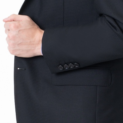High Quality Two-piece Suit Single Breasted Chambelanes Tuxedos_3