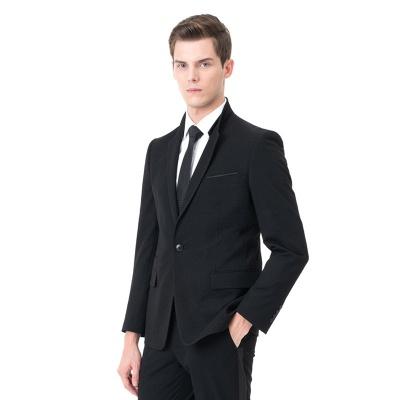 Moda pico solapa dos piezas | con pantalones trajes de boda_2