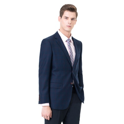Two-piece Suit Peak Lapel Two Button Single Breasted Slim Fit | Chambelanes tuxedos for my quince_2