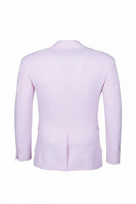 Candy Pink High Quality Single Breasted Peak Lapel Chambelanes Tuxedos_5