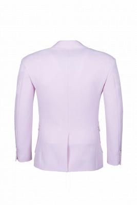 Traje rosado de alta calidad | la solapa del pecho de la solapa del pecho rosado_5