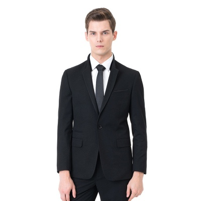 Fashion Peak Lapel Two Pieces with Pants Chambelanes Tuxedos_1