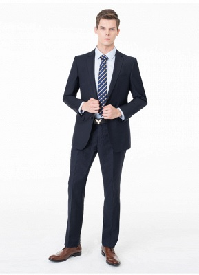 Peak Lapel Two Pieces with Pants Two Button Comfortable Casual Suits | Chambelanes tuxedos for my quince_8