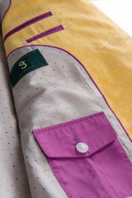 Traje de Boda de Alta Calidad Traje Casual | Solapa pico Dos botones Narciso_6