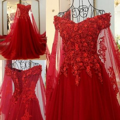 Off the Shoulder Appliques Skeevekess Quinceanera Dress_6