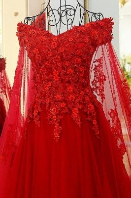 Off the Shoulder Appliques Skeevekess Quinceanera Dress_4