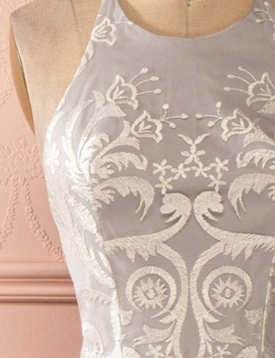 Glamorous Halter Tulle Quinceanera Appliques Backless Dama Dress_6
