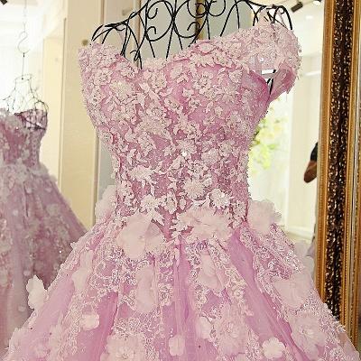 vestido largo de quincea_era | Princesa sin mangas de tul rosa_4