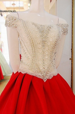 Luxury Off-the-Shoulder Beading Quinceanera Dress_2
