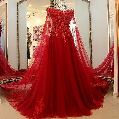 Off the Shoulder Appliques Skeevekess Quinceanera Dress_2