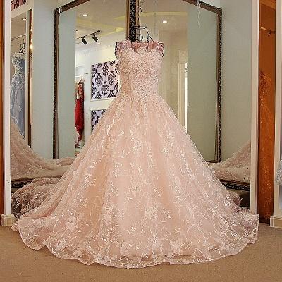 Apliques vestidos de quincea_era rosa | encaje palabra de longitud_1