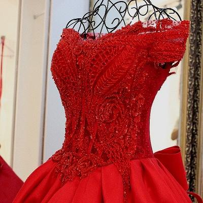 Exquisite Sweetheart Sleeveless Pearls Quinceanera Dress_3