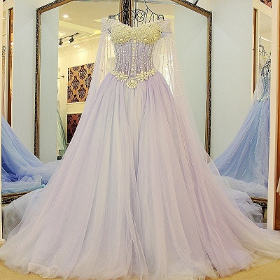 Exquisite Sweetheart Sleeveless Beading Long Quinceanera Dress_1