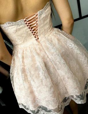 Unique Appliques Quinceanera Lace Romantic Sweetheart Lace-up Dama Dress_3