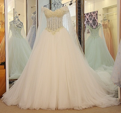 Exquisite Sweetheart Sleeveless Beading Long Quinceanera Dress_4