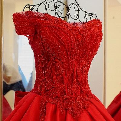 Exquisite Sweetheart Sleeveless Pearls Quinceanera Dress_4