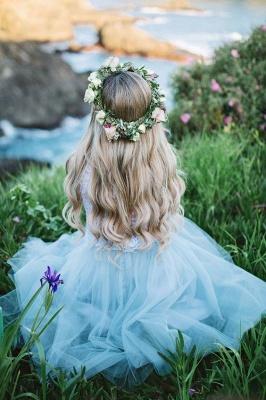 Lace Jewel Sleeveless Dama Dress_3