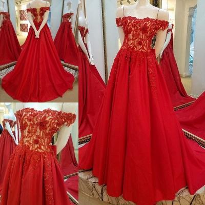 vestidos de quincea_era fuera del hombro | Elegantes Apliques de una línea_1