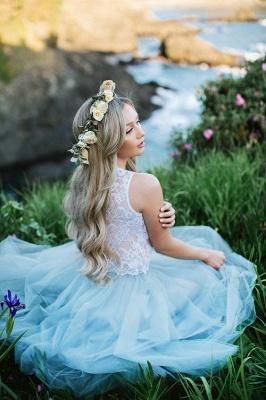Lace Jewel Sleeveless Dama Dress_2