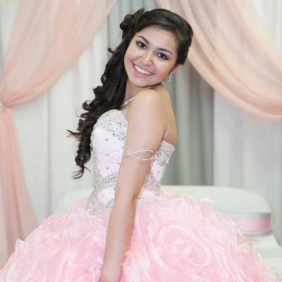 Fabulous Pink Sweetheart Beadings Ball Gown XV Dresses | Sleeveless Quinceanera Dresses Long_2