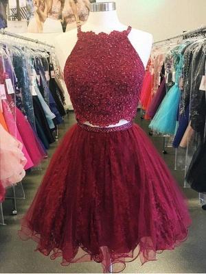 Elegante vestido de homcoming | corto para el regreso a casa de cuentas_3