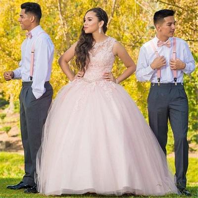 Fascinante joya apliques vestidos de quincea_era | Listones 15 vestidos largos vestido de bola_1