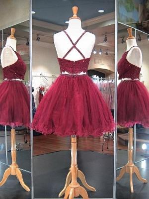 Elegante vestido de homcoming | corto para el regreso a casa de cuentas_2