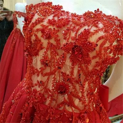 vestidos de quincea_era fuera del hombro | Elegantes Apliques de una línea_5