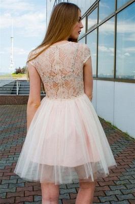 Illusion Lace Tulle Jewel Sleeveless Dama Dress_2