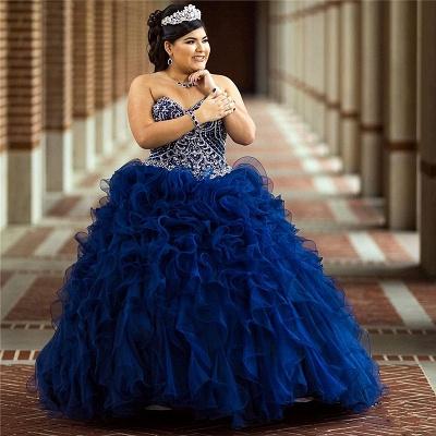 Vestido de fiesta maravilloso vestido de fiesta 15 vestidos | Volantes sin mangas de quinceañera vestidos largos_1
