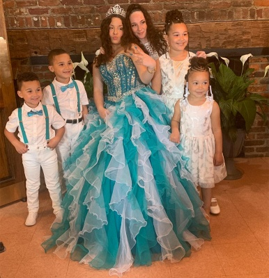 Gorgeous Sweetheart Beadings Quinceanera Dresses | Ruffles Ball Gown XV Dresses_2