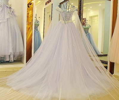 Exquisite Sweetheart Sleeveless Beading Long Quinceanera Dress_2