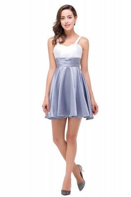 EVANGELINE | Quinceanera Sleeveless Sweetheart Short Chiffon Dama Dresses_1