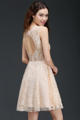 ANNABEL | Quinceanera Short Lace Quince Dama Dress_6