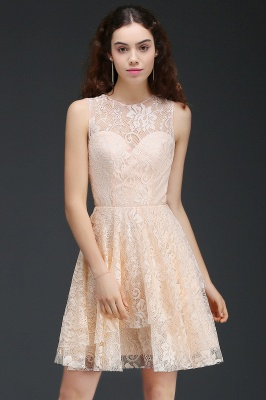 ANNABEL | Quinceanera Short Lace Quince Dama Dress_3
