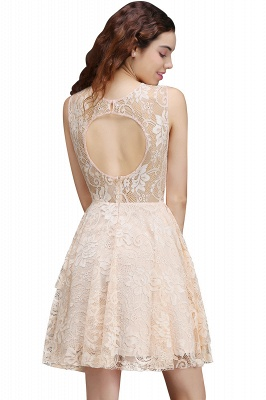 ANNABEL | Quinceanera Short Lace Quince Dama Dress_2