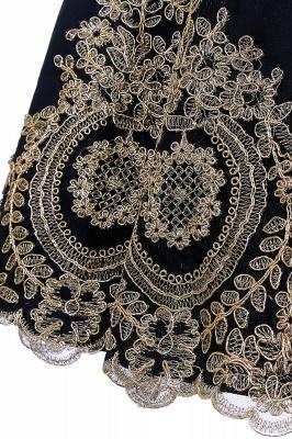 Simple vestidos de cóctel corte | cuello colgando burdeos_12