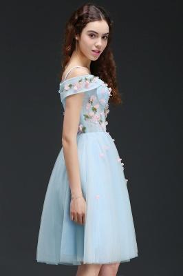 ANGELINE | Quinceanera Short Cute Quince Dama Dress Flowers_7