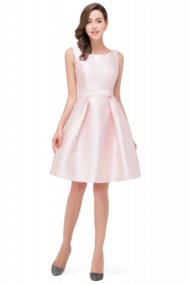 EMERSON | Quinceanera Sleeveless Knee Length Sleeveless Dama Dresses_1