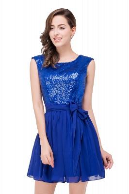 EMERSYN | Quinceanera Sleeveless Sequins Chiffon Short Dama Dresses_5
