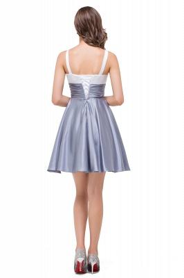 EVANGELINE | Quinceanera Sleeveless Sweetheart Short Chiffon Dama Dresses_4