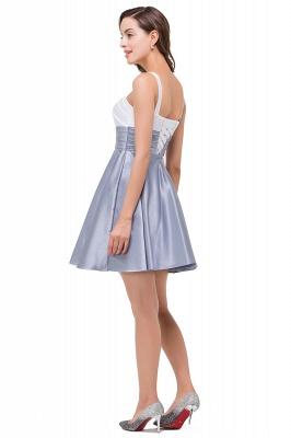 EVANGELINE | Quinceanera Sleeveless Sweetheart Short Chiffon Dama Dresses_5