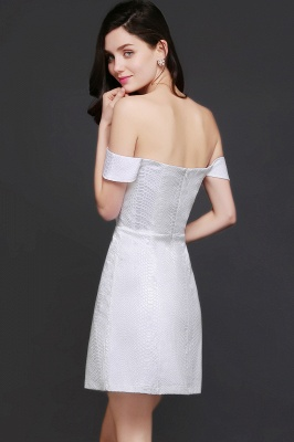 CIARA | Quinceanera Off-the-shoulder White In-stock Prom Dress_3