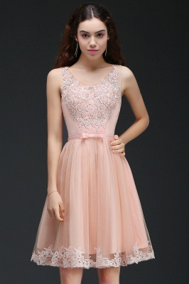 ANIYAH | Quinceanera Short Cute 15 Dama Dress With Lace_4