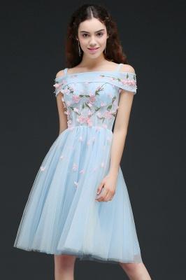 ANGELINE | Quinceanera Short Cute Quince Dama Dress Flowers_4