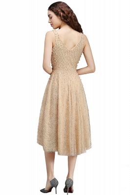 ANNABELLA | Quinceanera Hi-Lo Popular 15 Dama Dress With Pearls_2