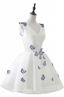 ANGEL | Quinceanera Cute 15 Dama Dress With Butterfly_4