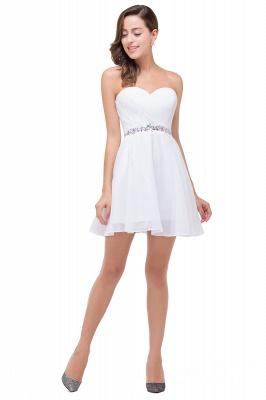 Mini A-linea rebordear vestidos de baile | cari_o corto encantador_5