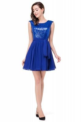 EMERSYN | Quinceanera Sleeveless Sequins Chiffon Short Dama Dresses_6